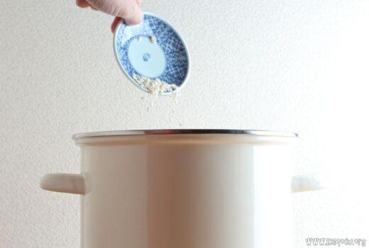 ぬか床に米麹を加える効果は? 塩麹や麹甘酒の作用について