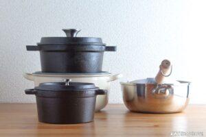 揚げ物鍋の素材による比較