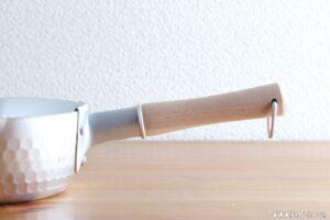 木製の把手は焼ける?