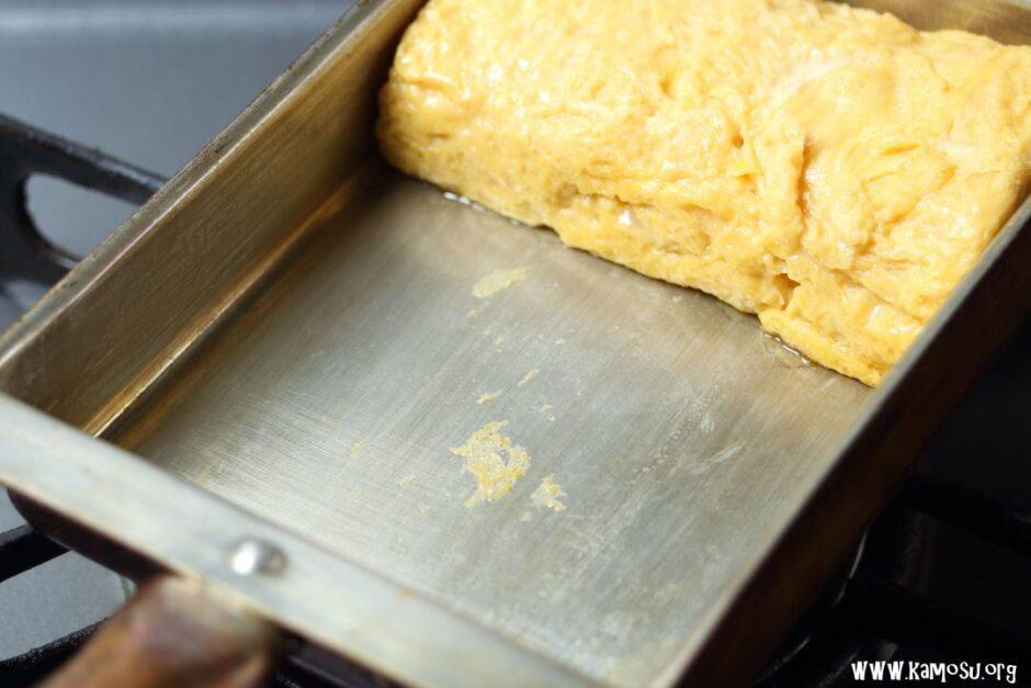 銅の卵焼き器はくっつく?