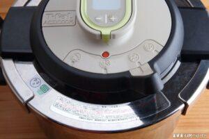 圧力鍋の低圧と高圧とでの温度差は?