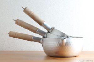 炊飯に適した雪平鍋の大きさは?