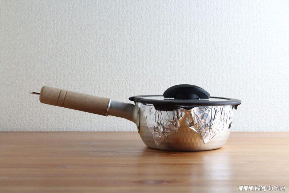 雪平鍋の炊飯方法は?