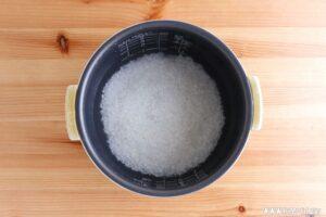 米の加える水の量の計算方法は?